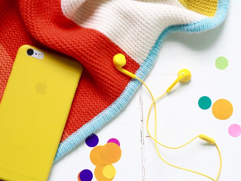 happy plugs yellow