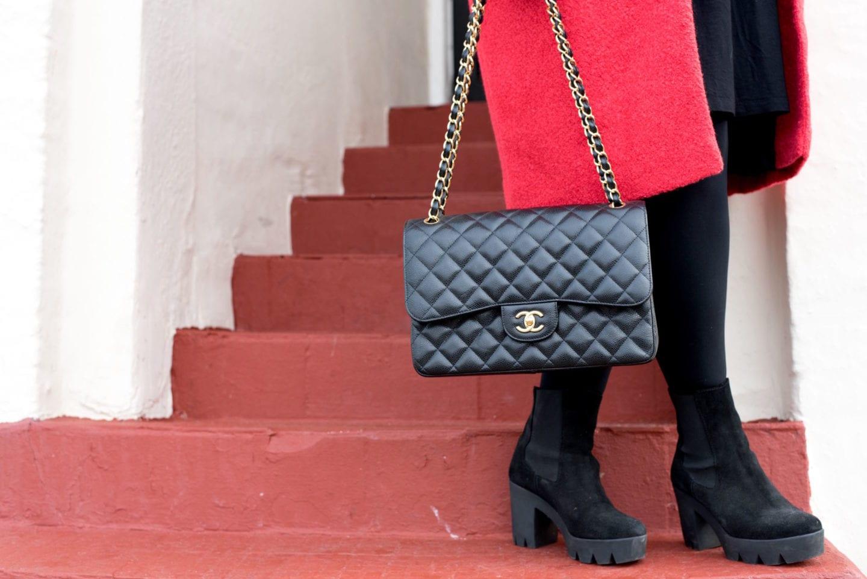 chanel classic flap handbag
