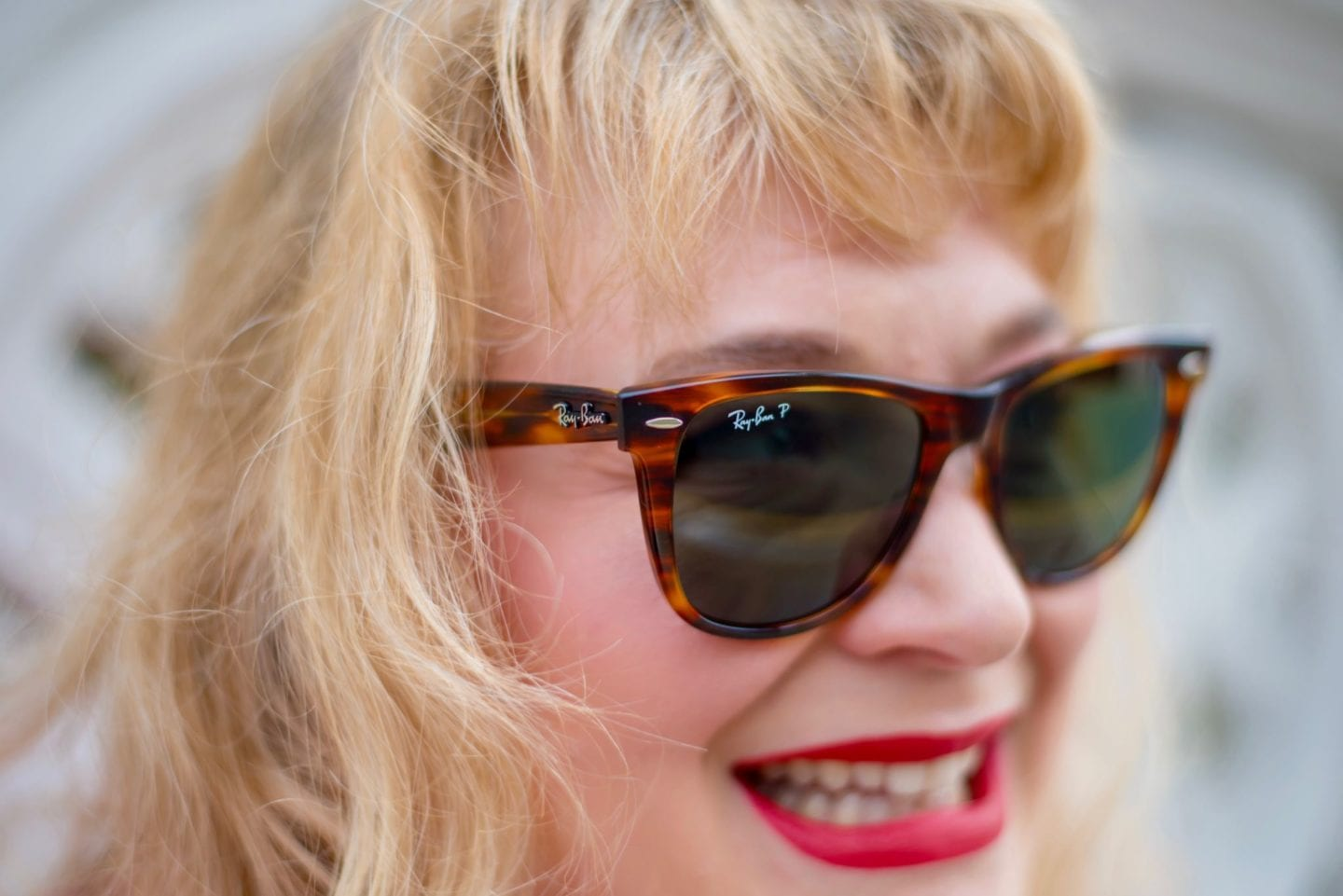 fashion for lunch blog ray ban sunglasses