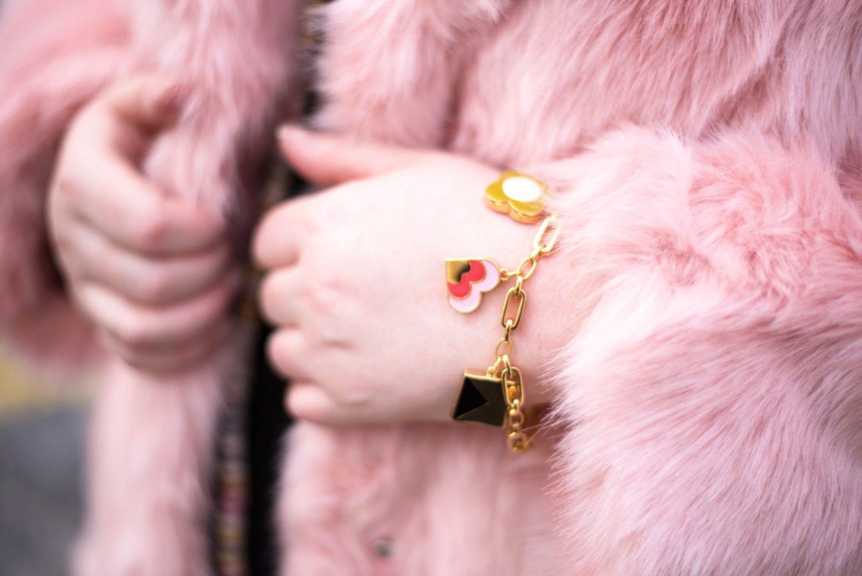 orla kiely bracelet charm bracelet