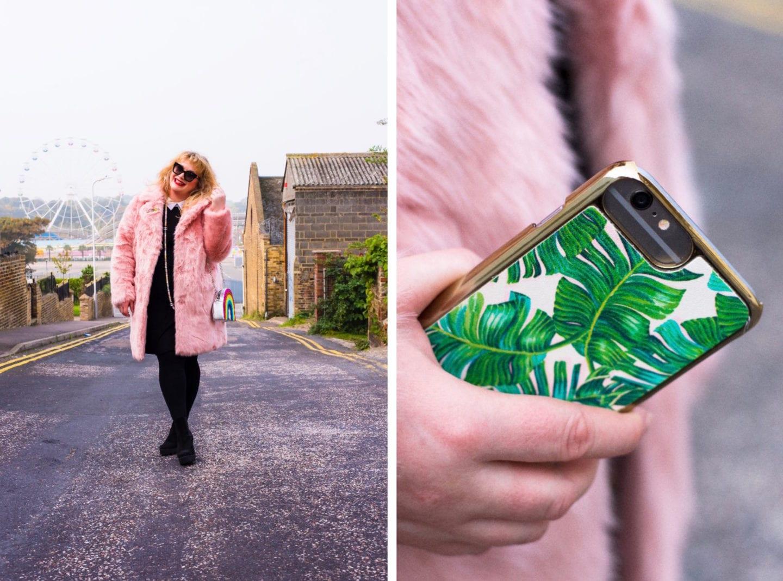 skinnydip london iphone case palm print