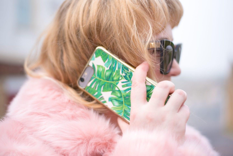 skinnydip london palm print phone case iphone 6plus