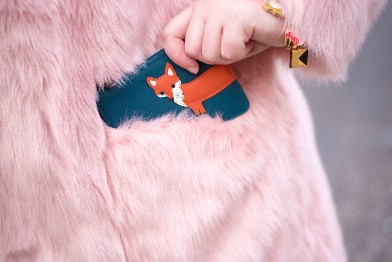 yoshi fox purse