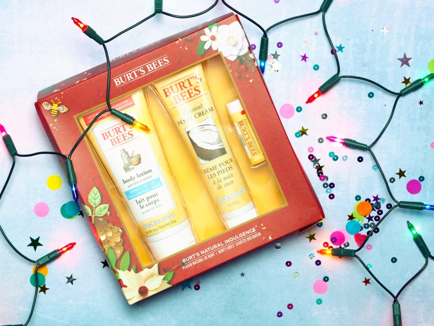 Burt's Bees 'Burt's Natural Indulgence' Set