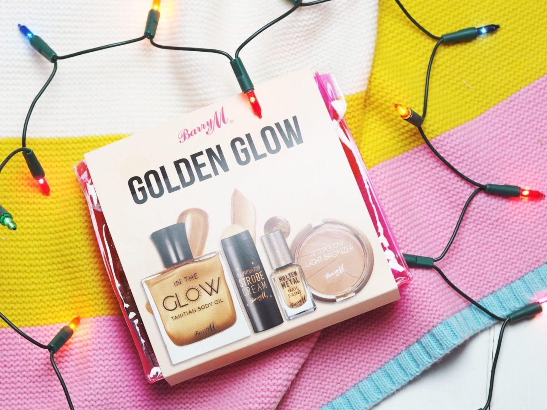 Barry M 'Golden Glow' Set