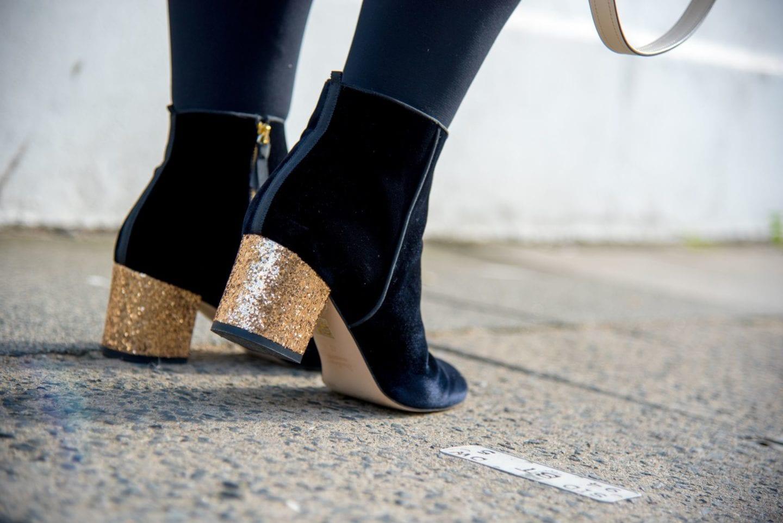 boden boots gold glitter heel 2017
