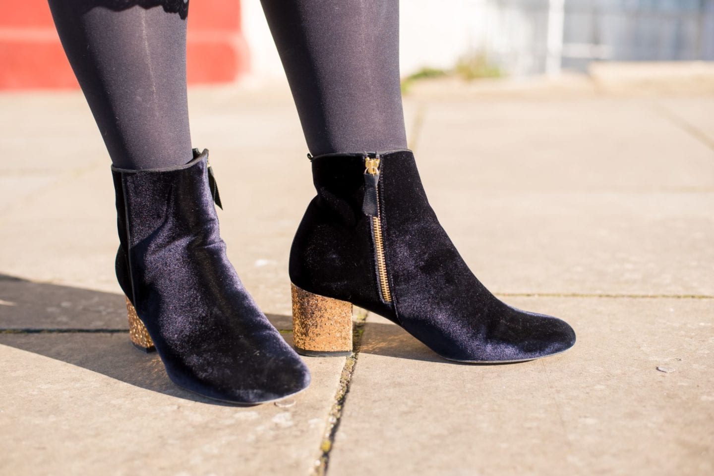 boden shoes boots gold glitter lana style