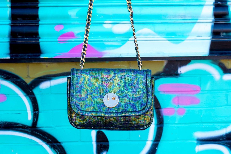 hill and friends handbag metallic