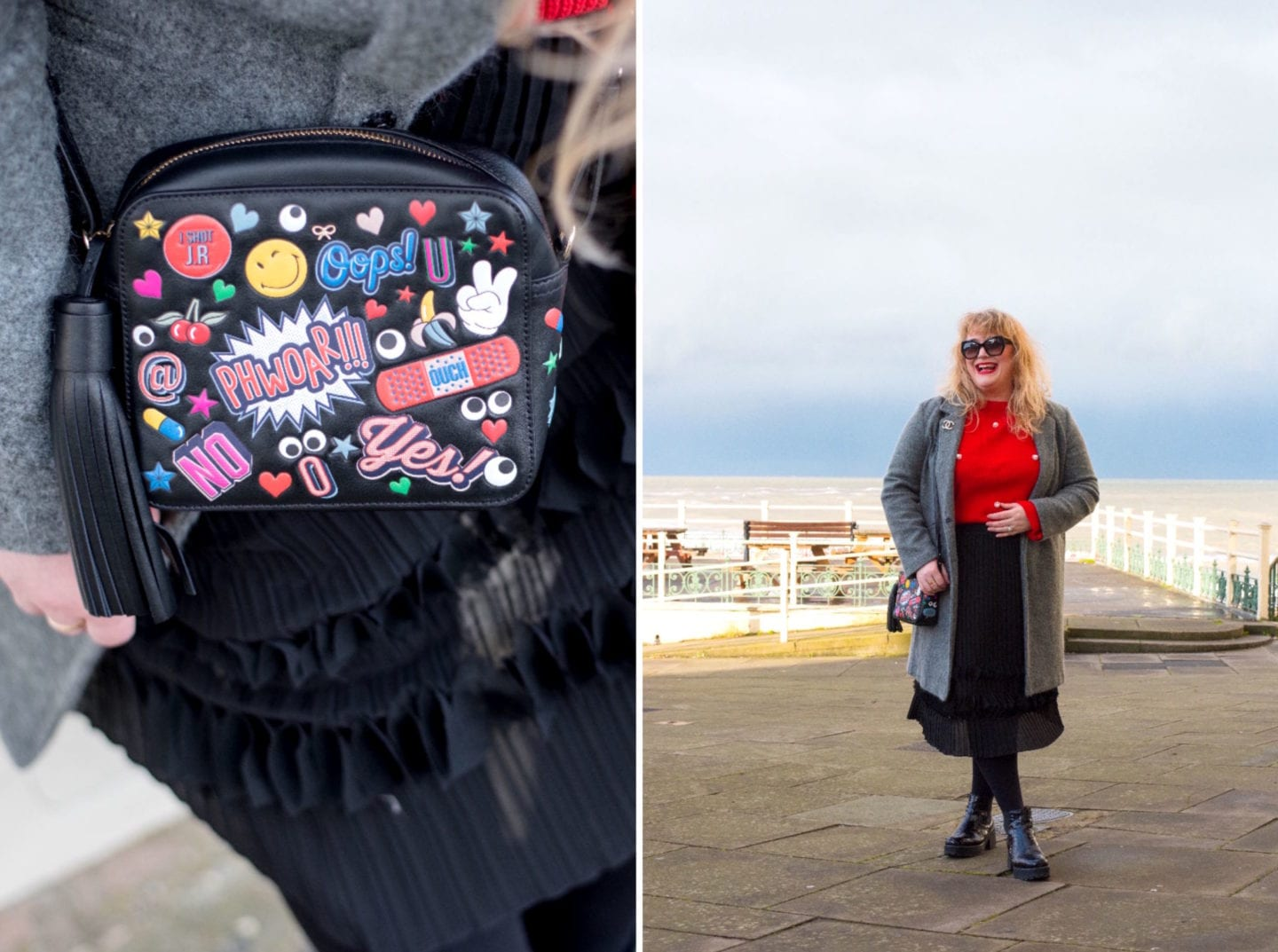 fashion for lunch blog anya hindmarch bag stickers