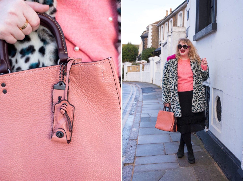 fashion for lunch blog coach rogue handbag