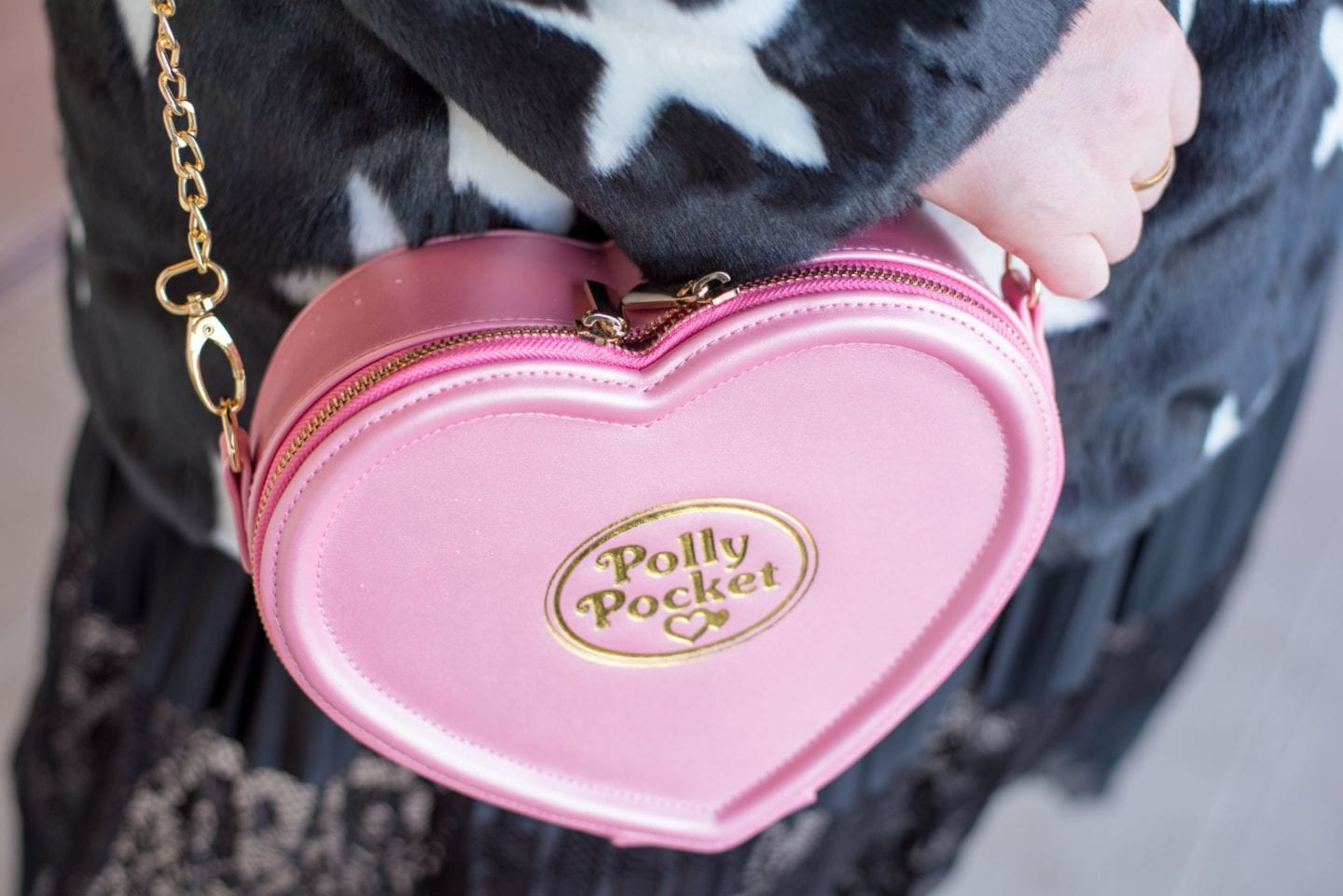 polly pocket handbag pink