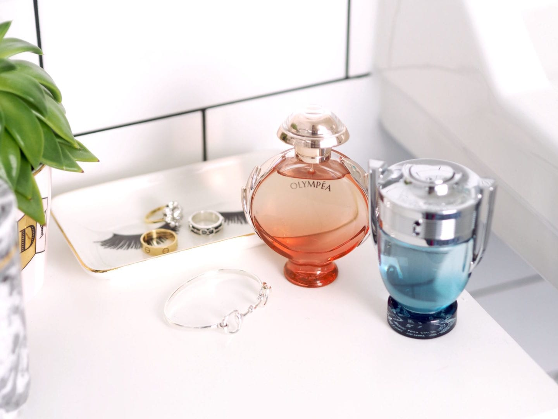 Fragrance: Paco Rabanne 'Invictus Aqua' & 'Olympea Aqua' (AD)