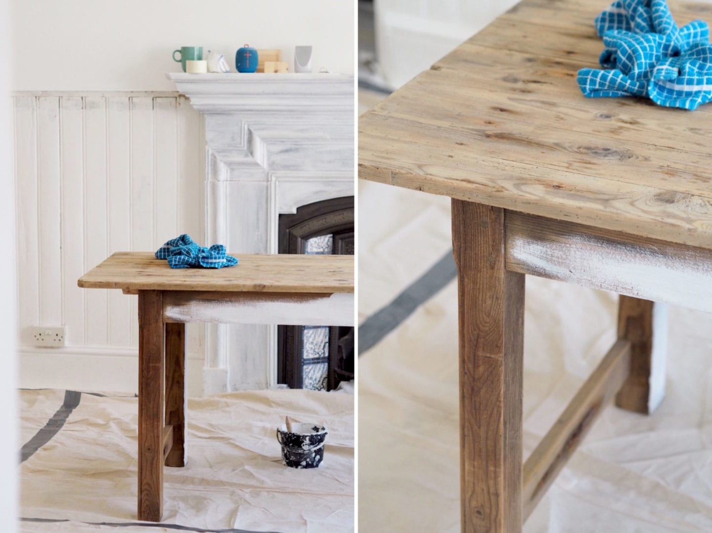 antique table project DIY French kitchen table farmhouse