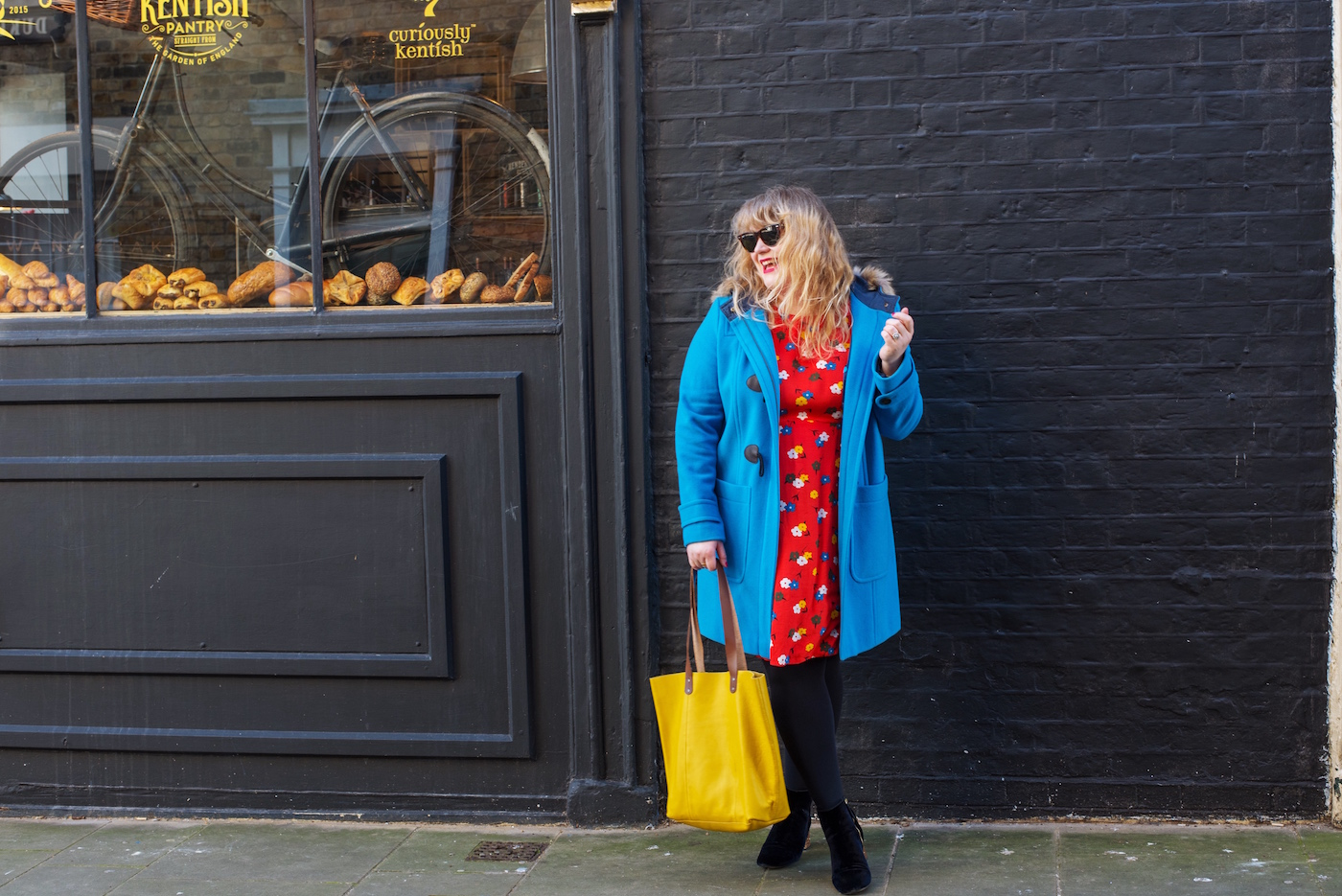boden clothing blue duffle coat