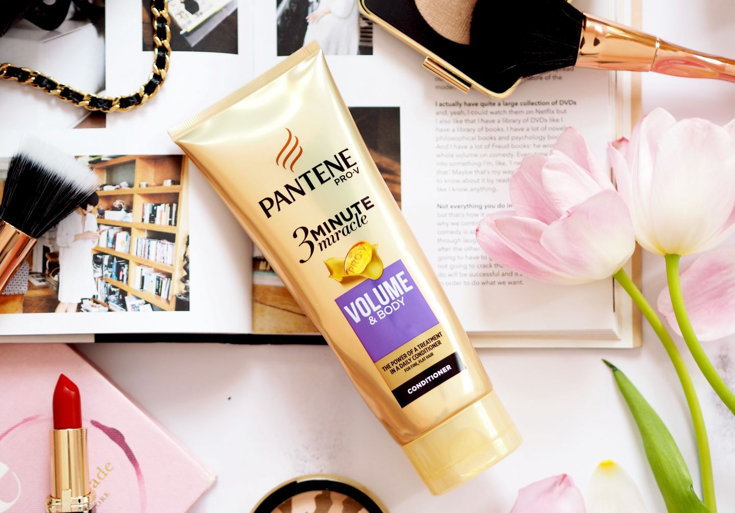 New Pantene Pro-V 3 Minute Miracle Range