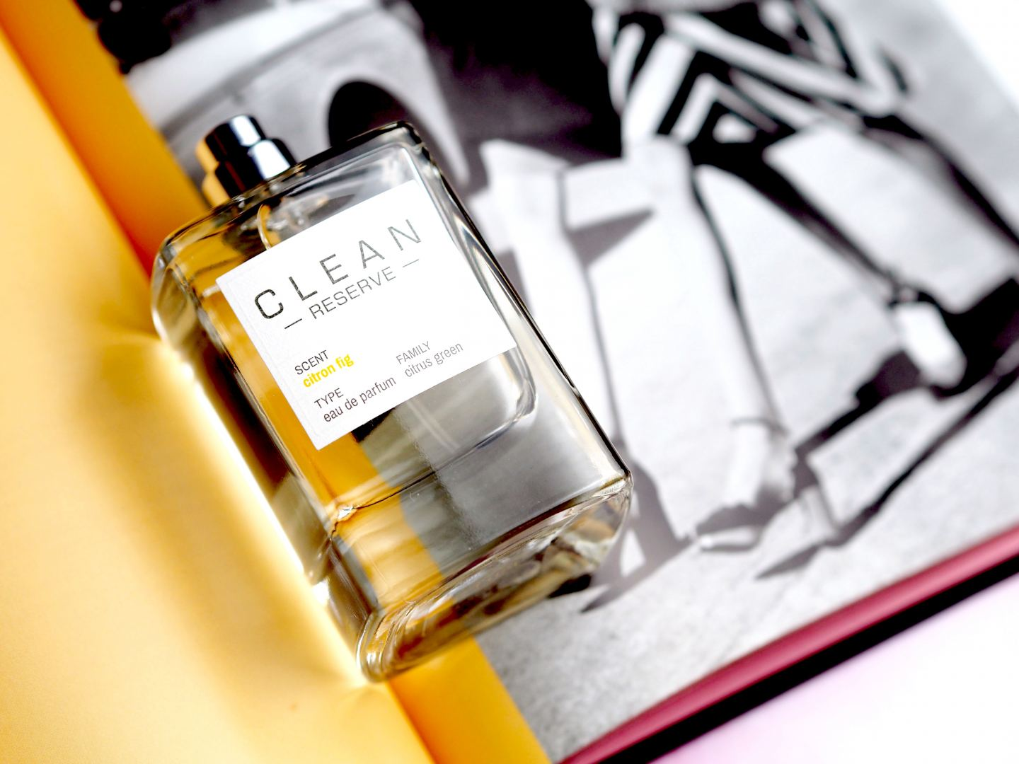 Clean Reserve 'Citron Fig' perfume fragrance
