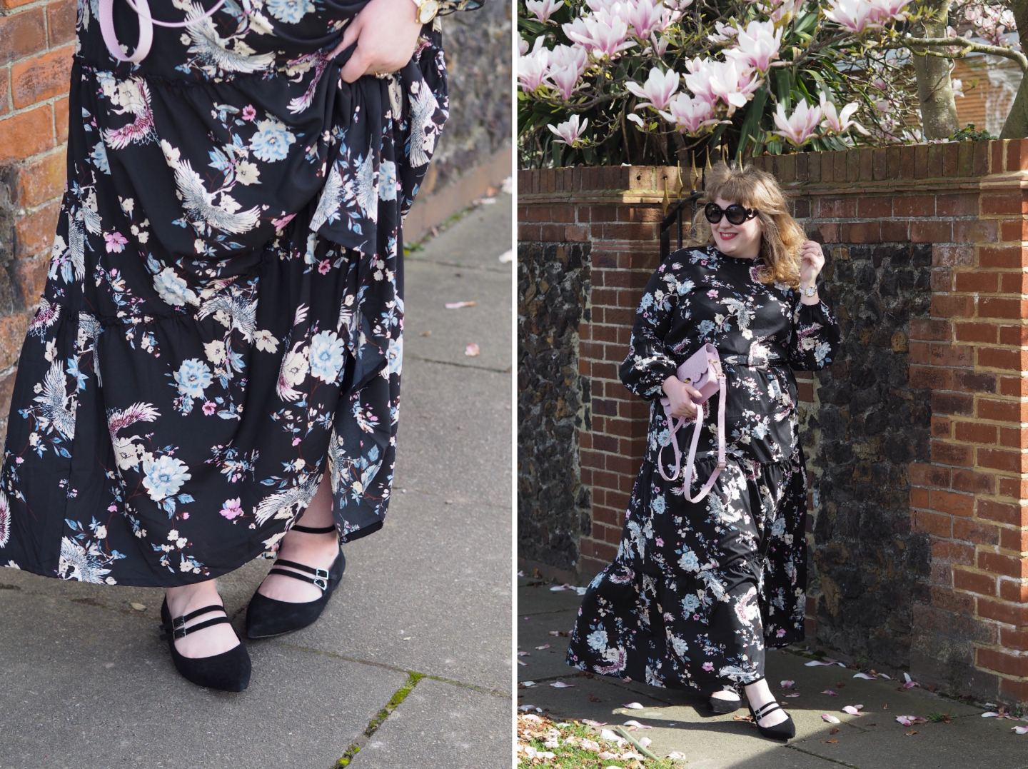 boohoo anna maxi dress boohoo curve