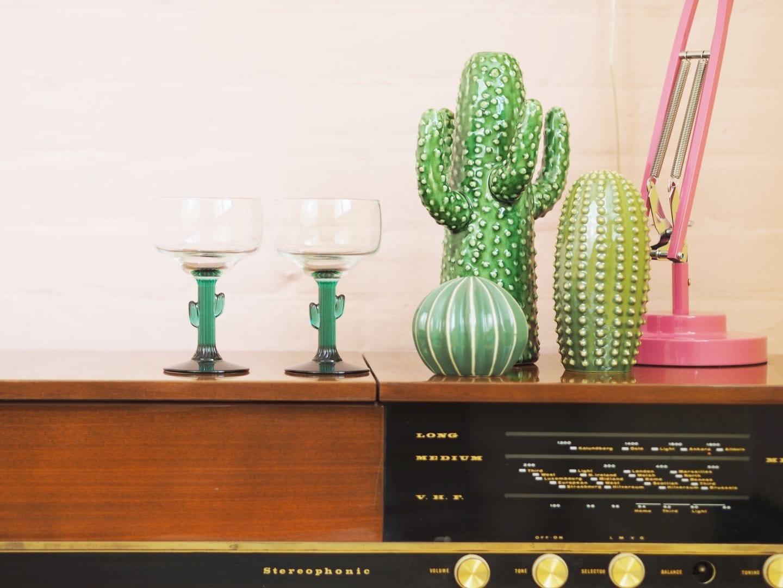matalan cactus glasses