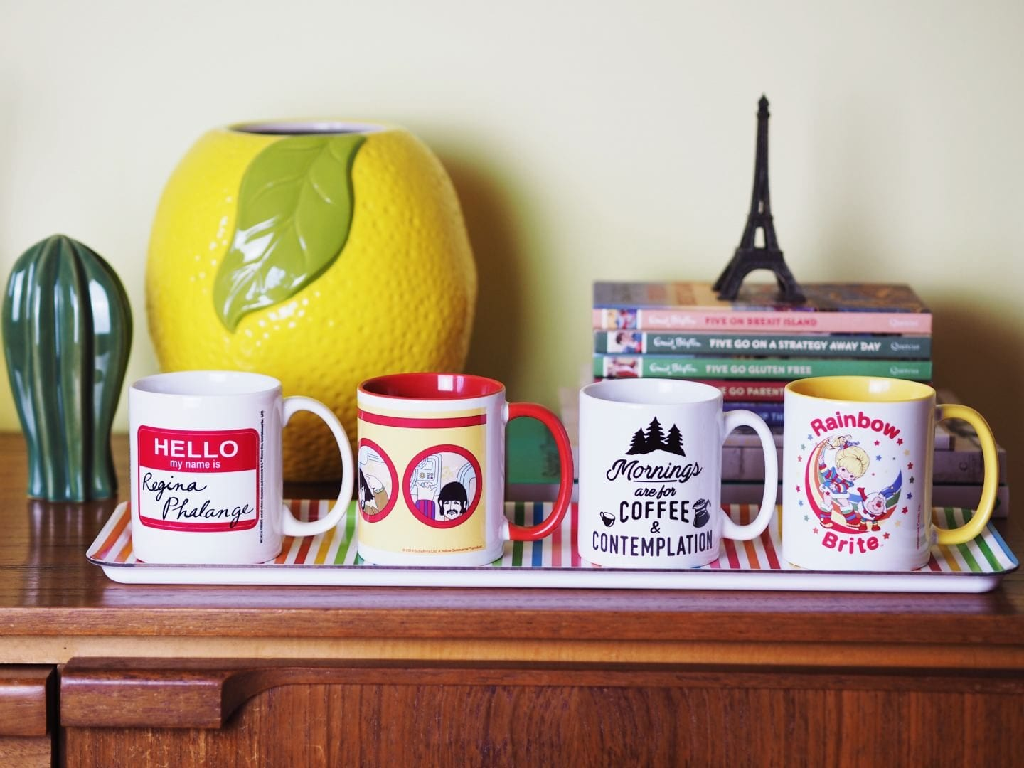 super fun mugs airbnb vintage truffleshufle.com mugs