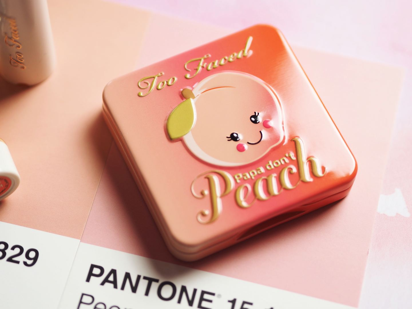 too faced sweet peach collection blusher