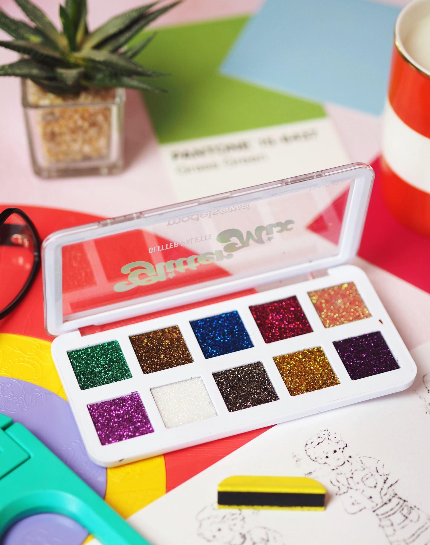 Models Own Glitter Mix Palette
