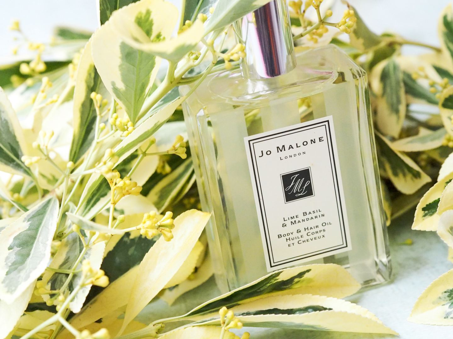 Jo Malone London Lime Basil & Mandarin Body & Hair Oil new 2018