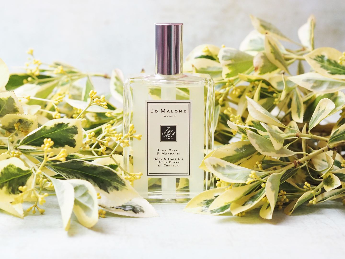 Jo Malone London Lime Basil & Mandarin Body & Hair Oil review new 2018