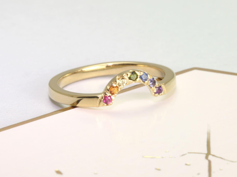 Jane Reinhardt Rainbow Ring
