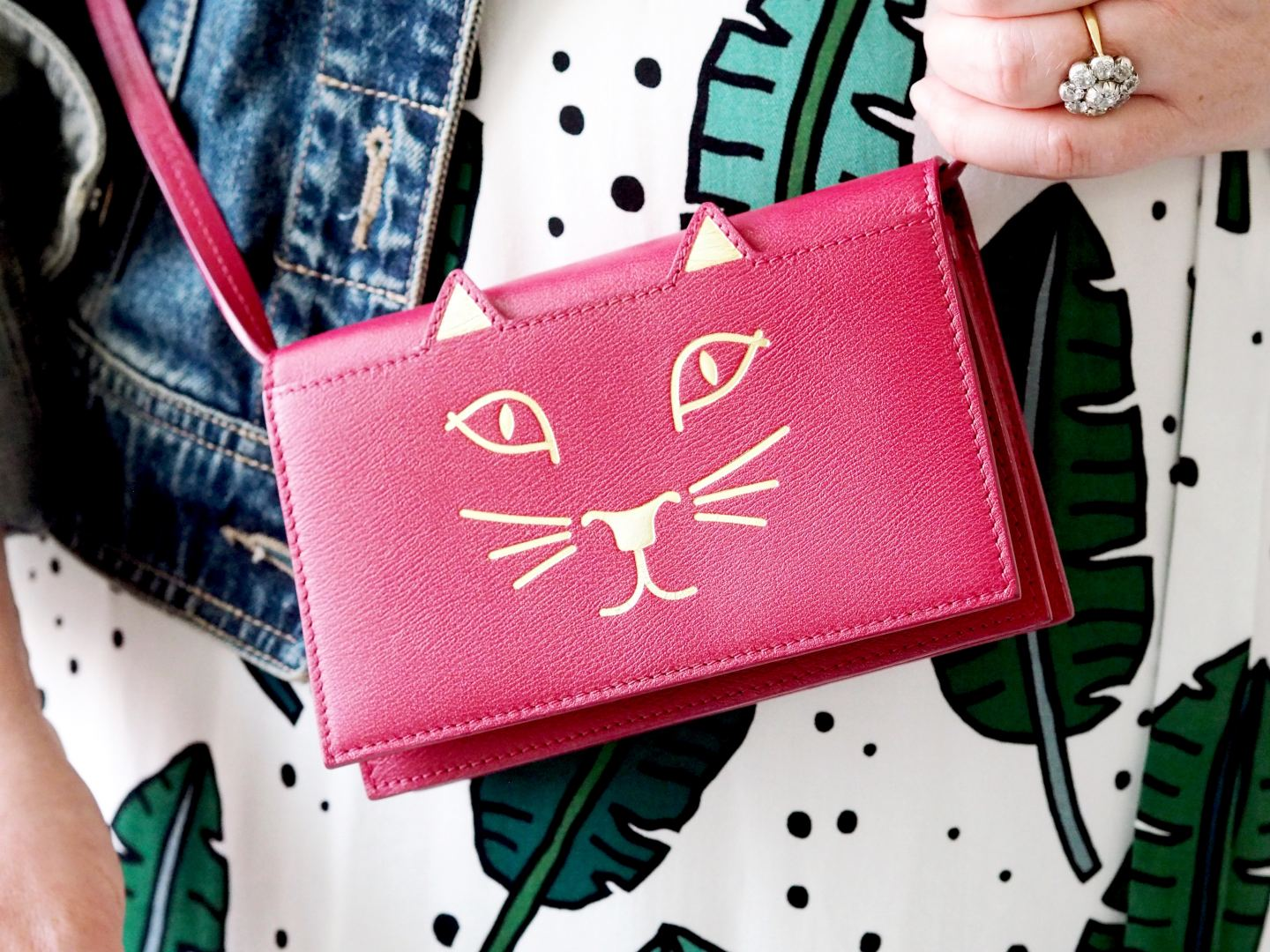 Why I Needed The Charlotte Olympia Kitty Handbag Fashion For Lunch