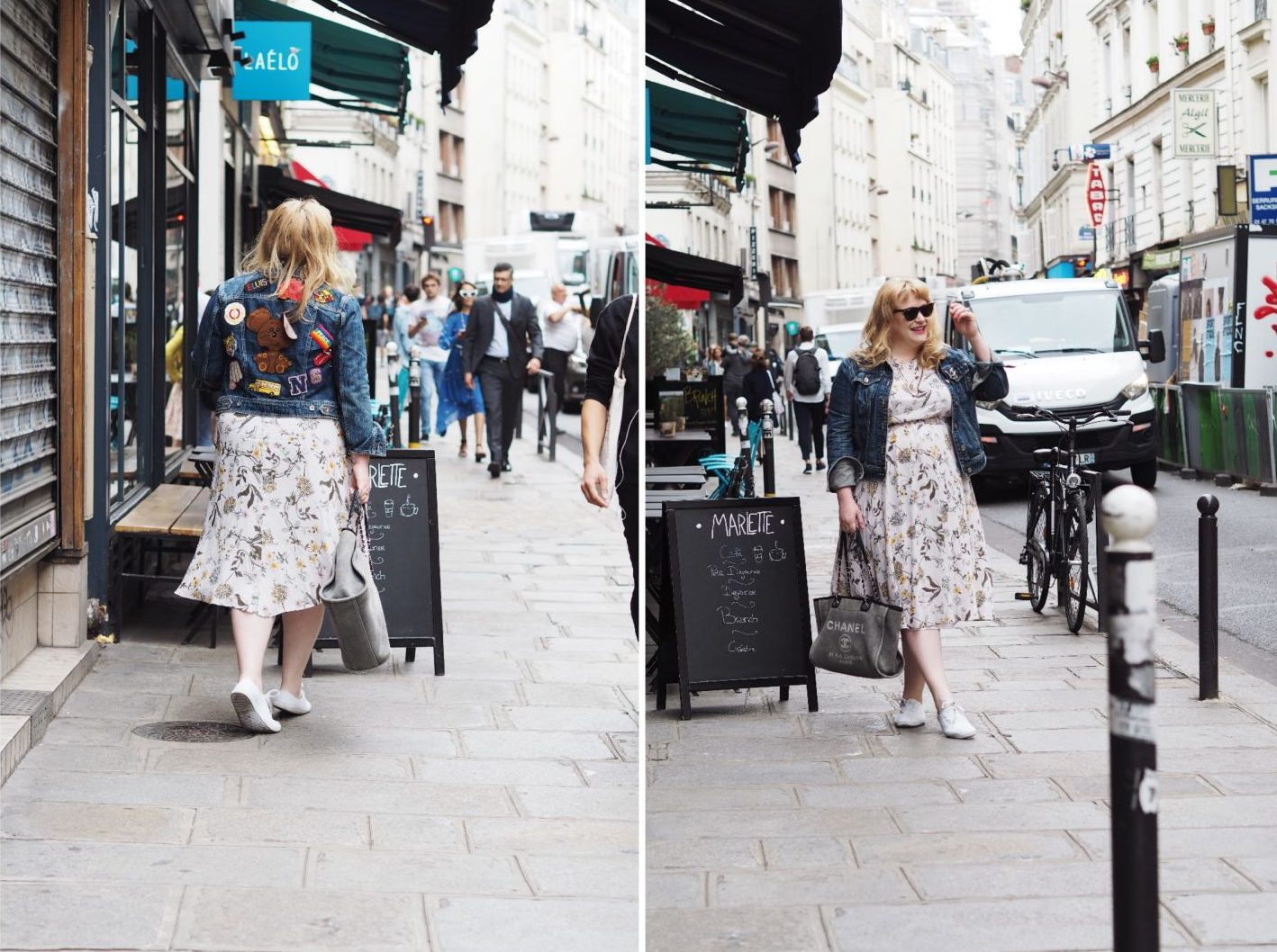 fashion for lunch blog paris marks and spencer dress