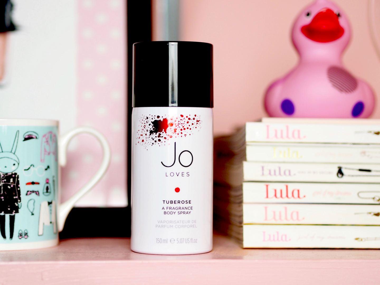 Jo loves tuberose body spray