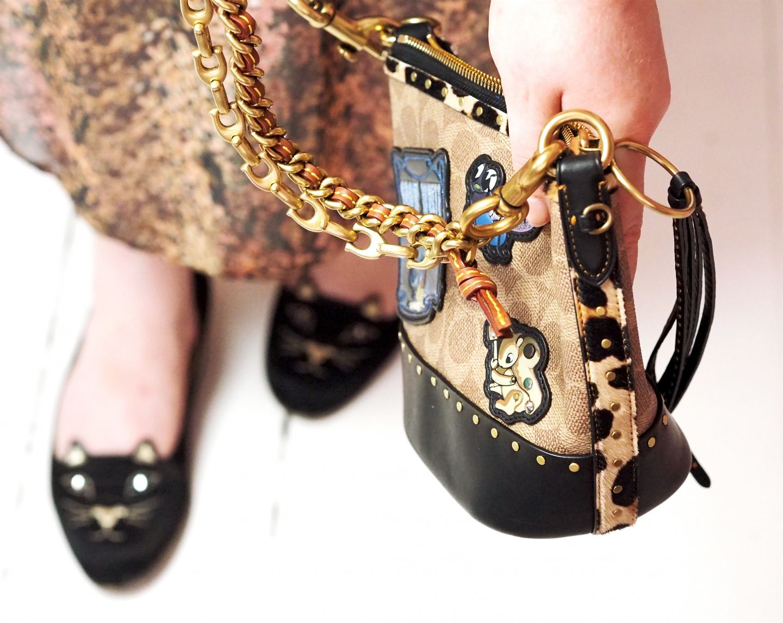 coach x disney bucket bag handbag review