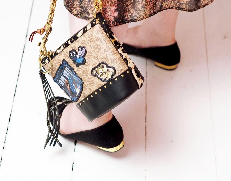 coach x disney bucket bag handbag review tote