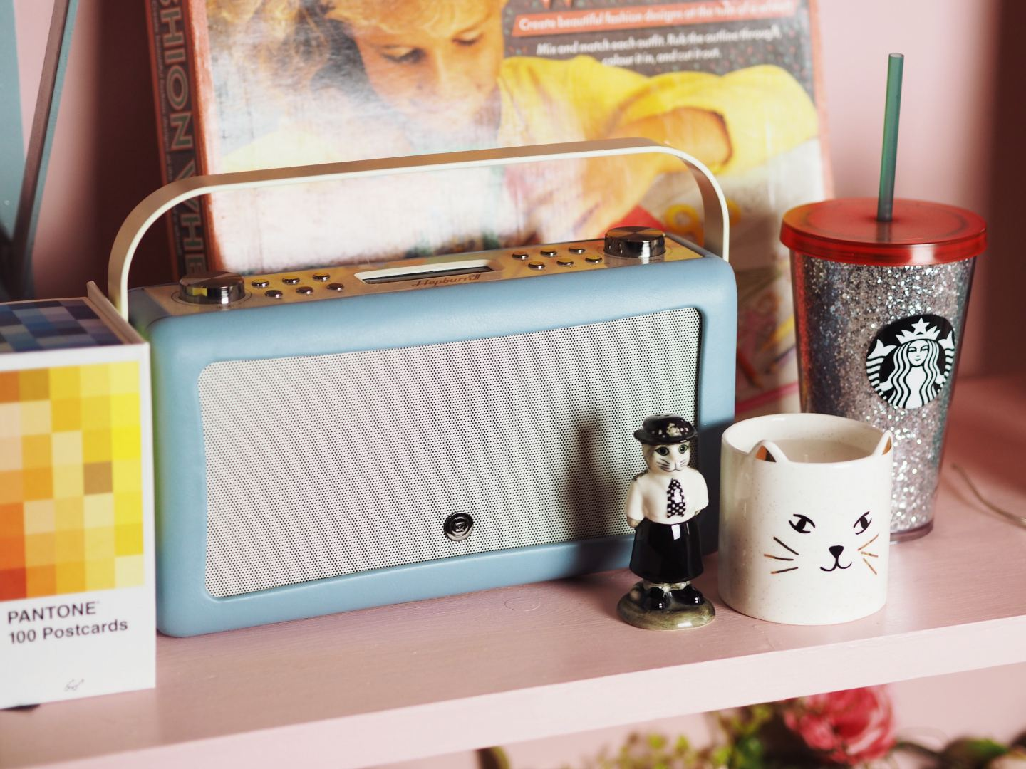 vintageDAB radio my vq bluetooth DAB shelfie