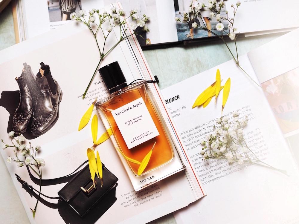 Van Cleef & Arpels Rose Rouge perfume fragrance review