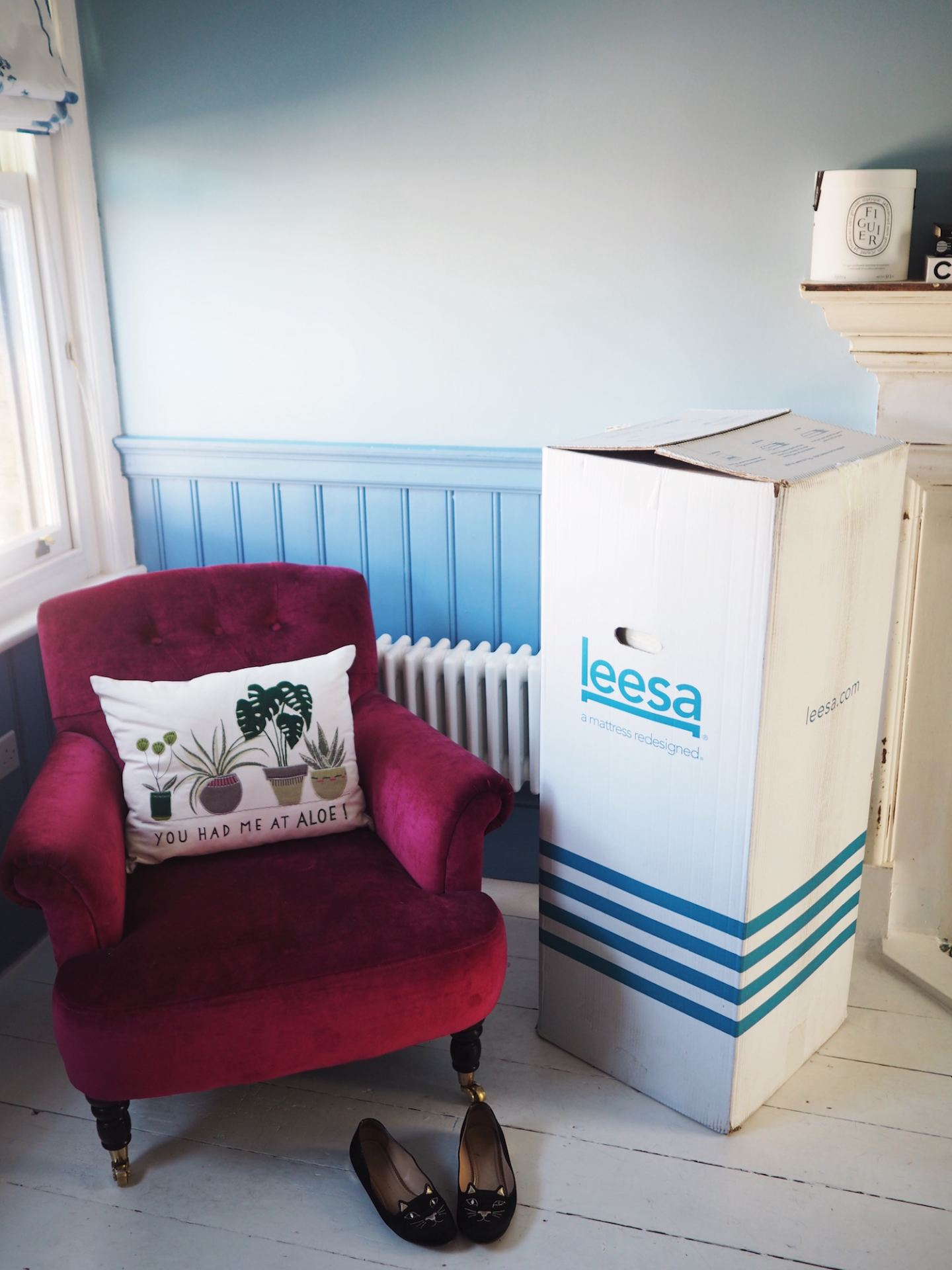 leesa matress in a box