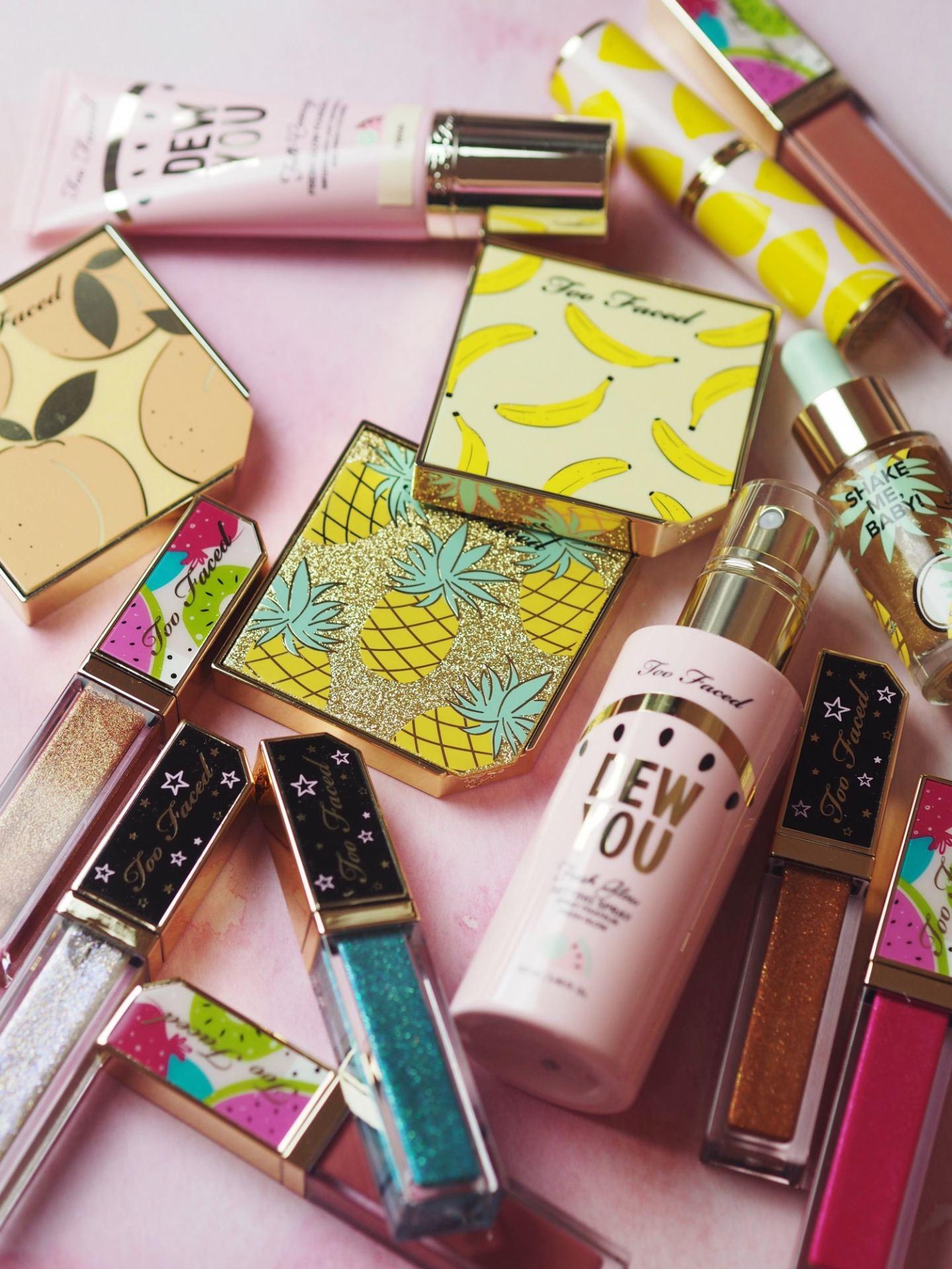 too faced dew you make up cosmetics tutti fruiti 3