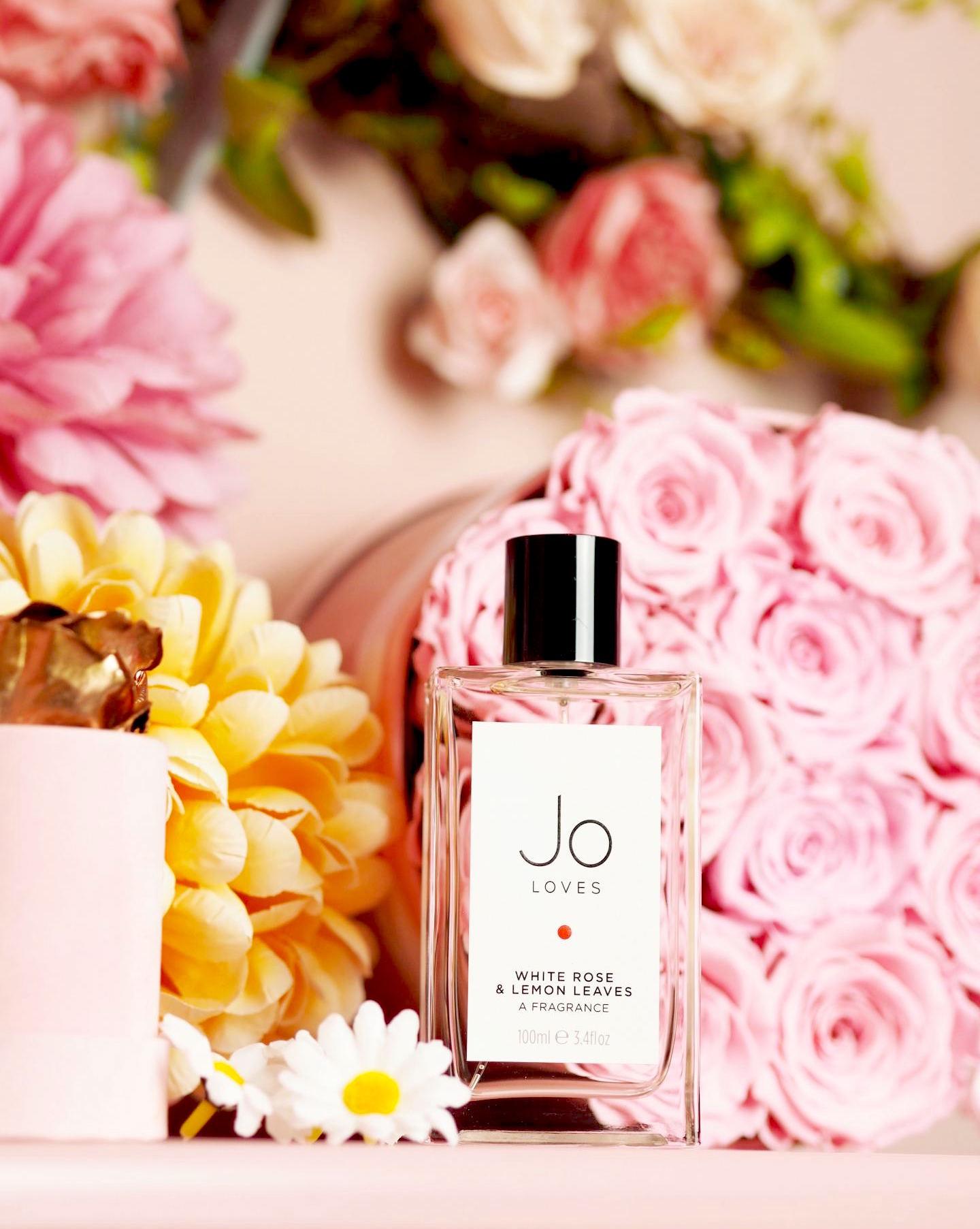 Jo Loves 'White Roses & Lemon Leaves' perfume fragrance review