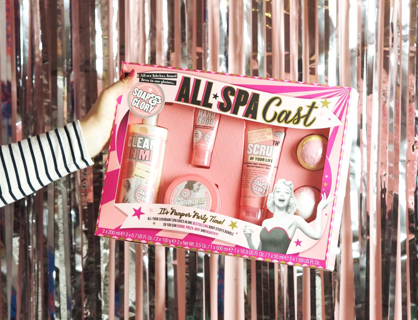 Soap & Glory 'All Spa Cast'
