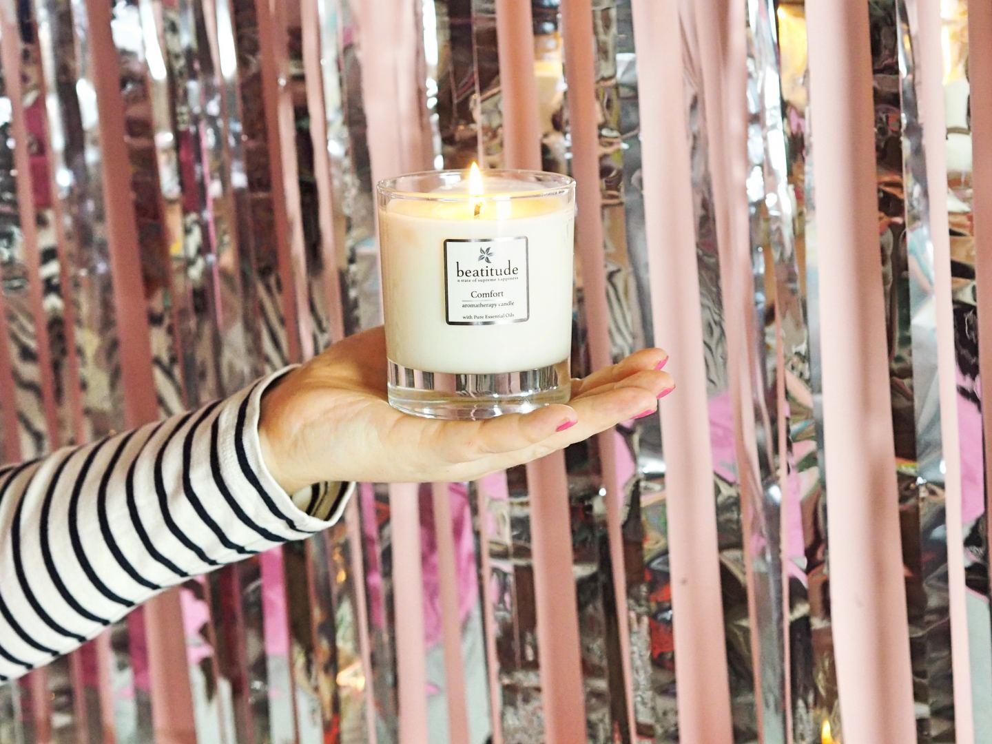 beautitude candle comfort