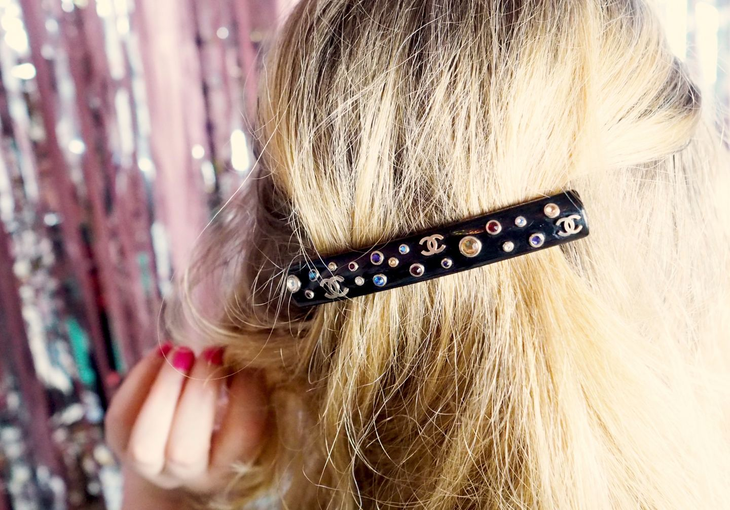 chanel hair clip barrette fashion for lunch first purchase
