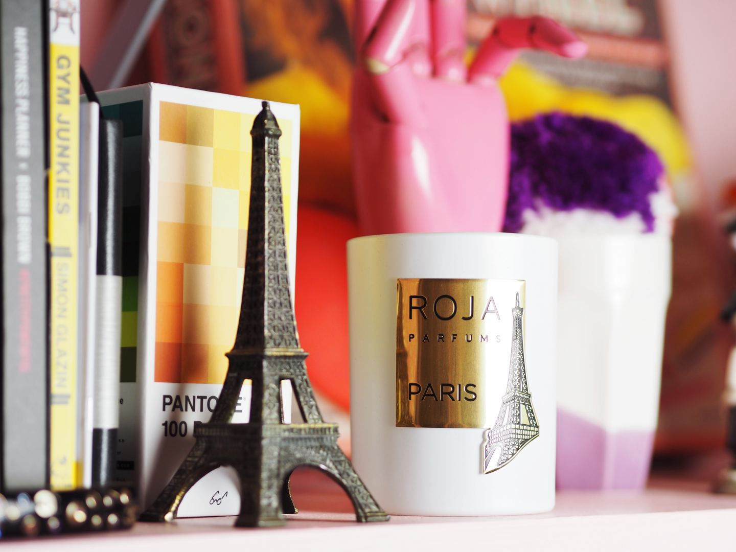 dove Roja 'Paris' candle