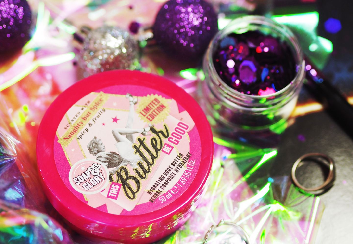 soap and glory naughty and spice