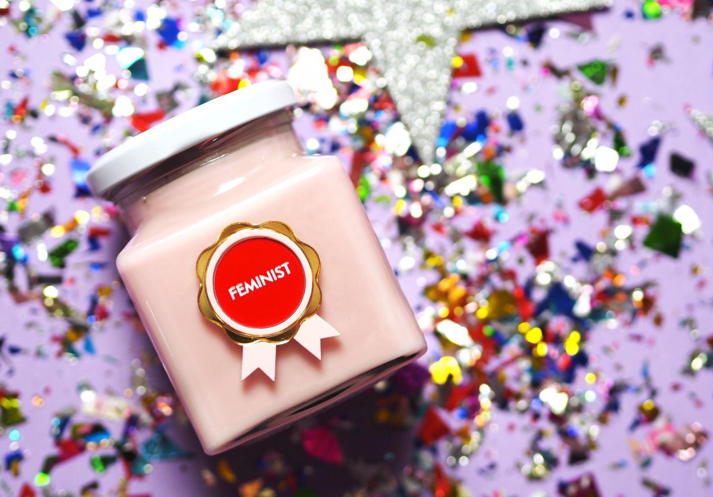 flamingo candles feminist candle
