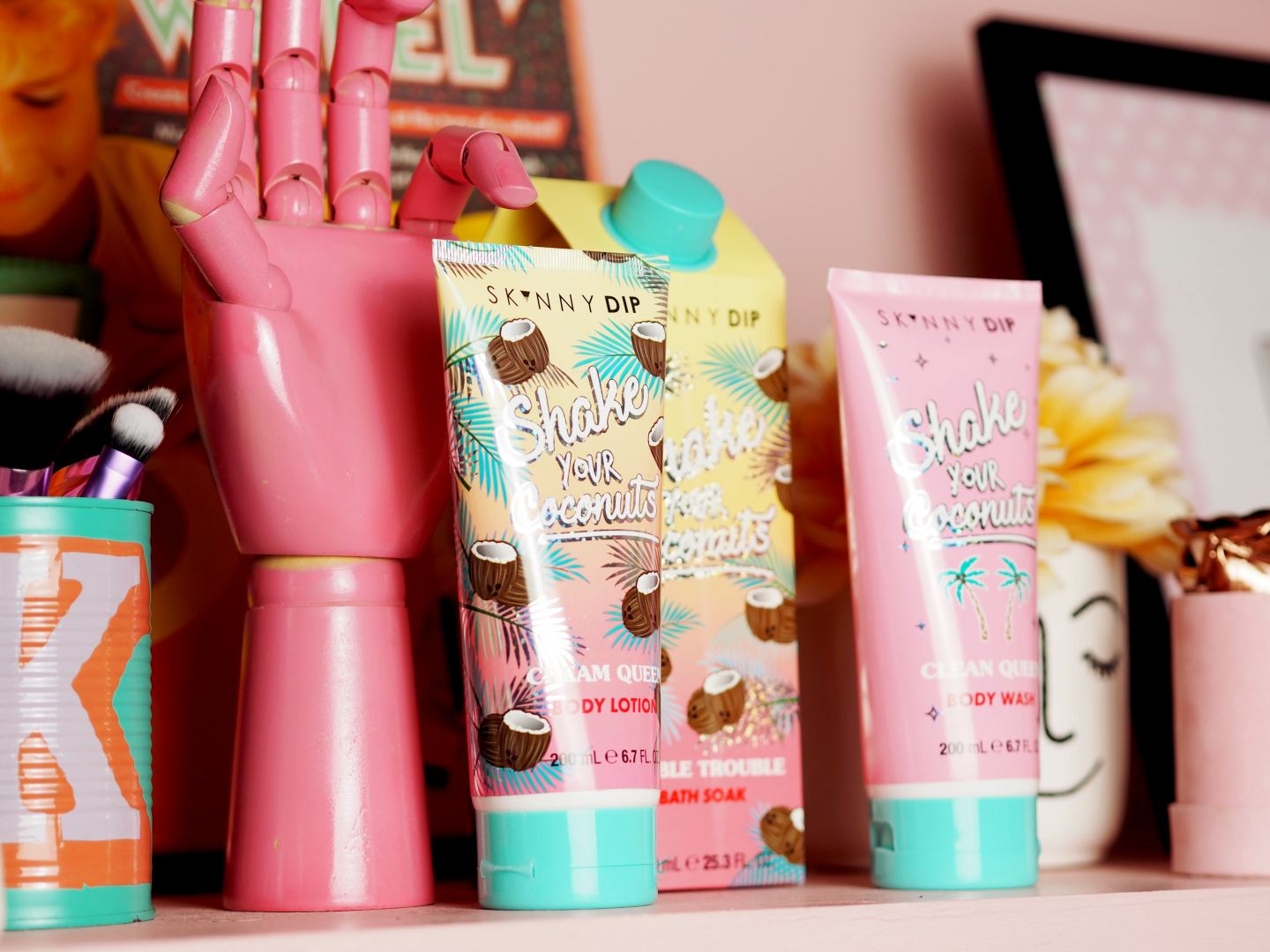 skinnydip london bath and body products