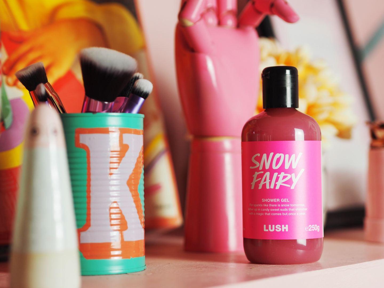 snow fairy shower gel