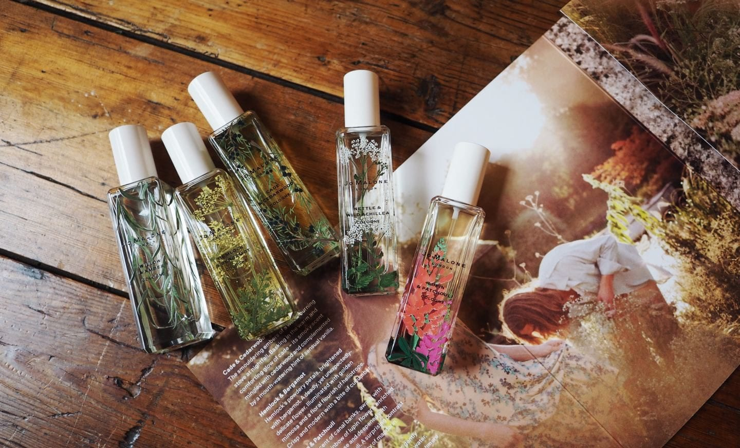 Jo Malone London 'Wild flowers & Weeds' Collection