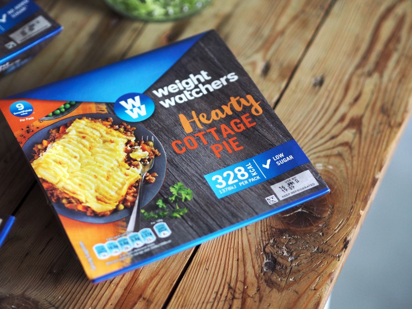 fashion for lunch blog weight watchers campaign project asda discount new year hearty cottage pie