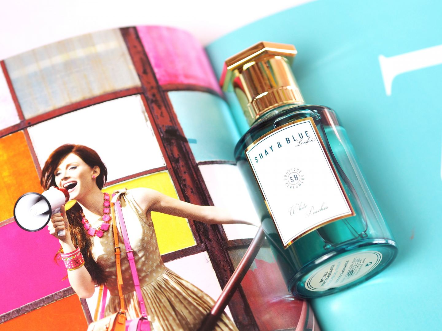 niche spring perfume Shay & blue 'White Peaches' perfume review