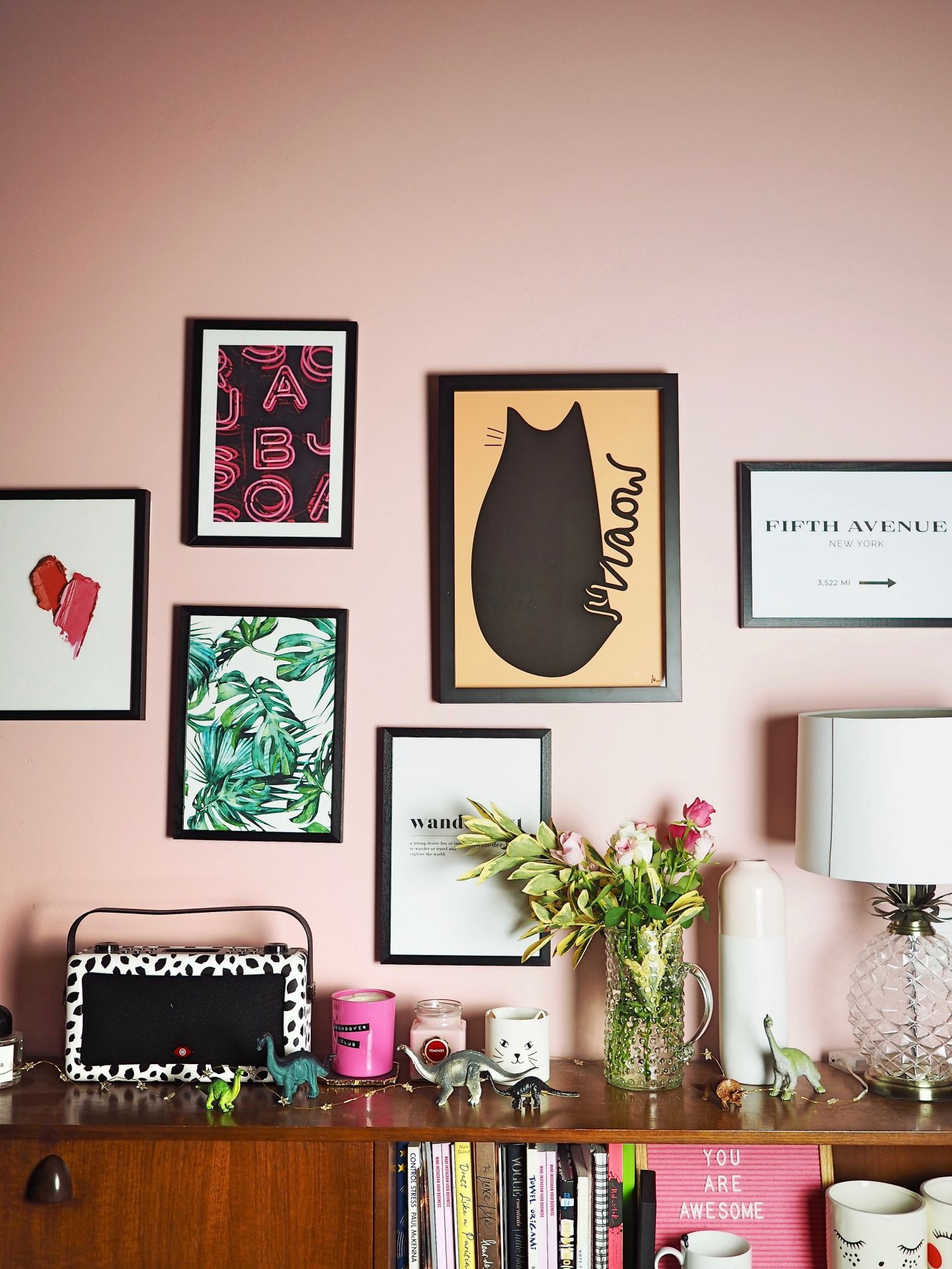 Ten Podcasts For Freelance Creatives oliver bonas poster meow